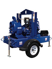 Gorman-Rupp Super T Engine-Driven Self-Priming Pumps