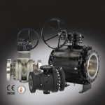 AT Controls trunnion mounted ball valves