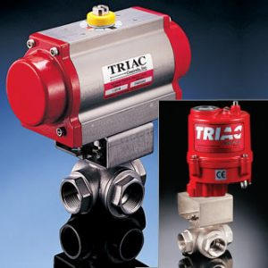 a t controls triac 38 series automated ball valves