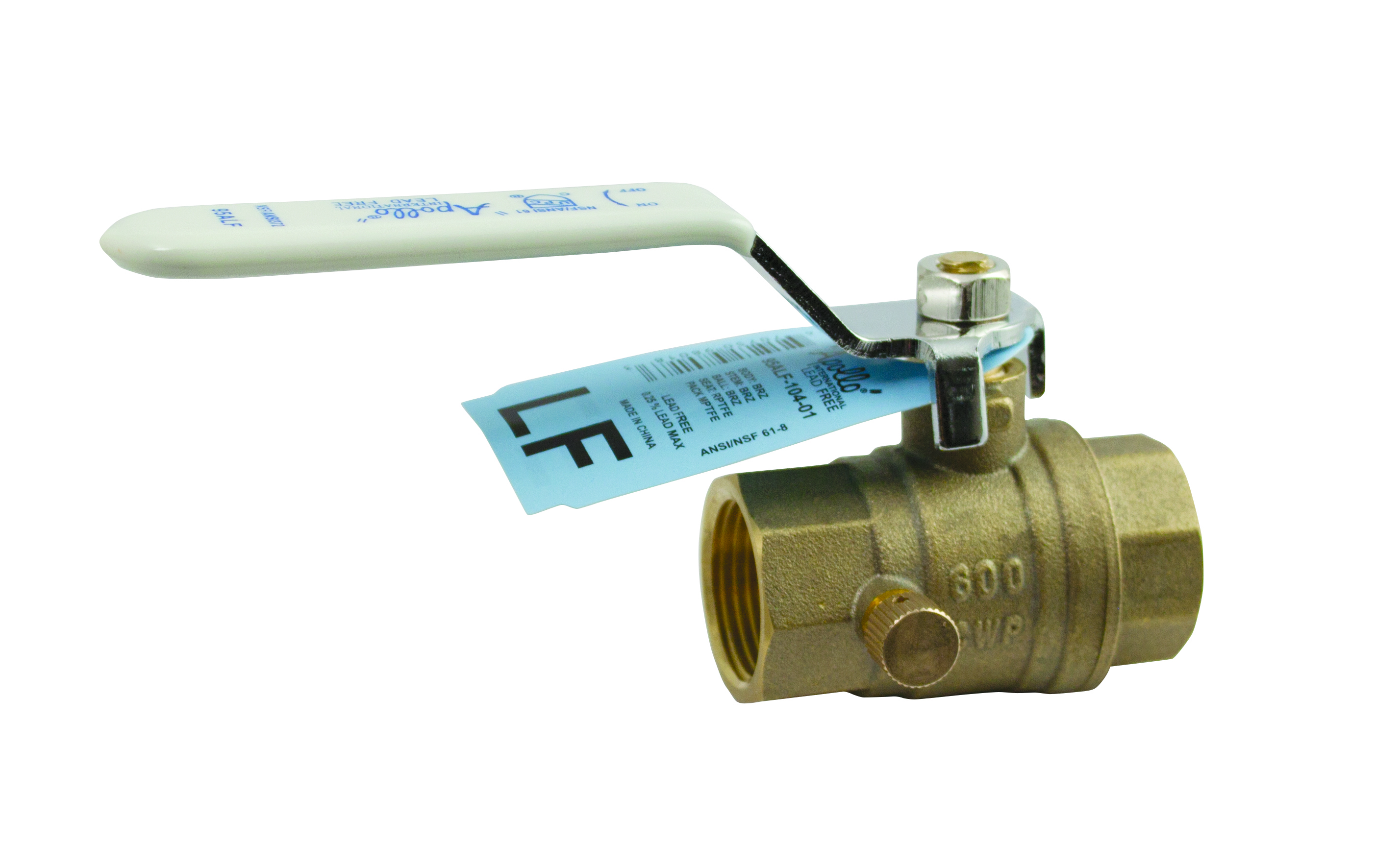 apollo 70 100 series bronze ball valve - HD 2856×1764