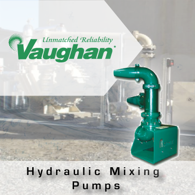 Vaughan Hydraulic Mixing Pumps