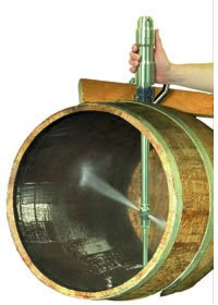 Alfa Laval Wine Barrel Cleaning System