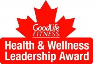 Goodlife Fitness Health Wellness Leadership Award John Brooks