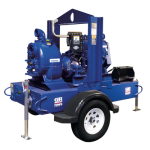 Gorman-Rupp Self-Priming Super T Engine Driven Pump