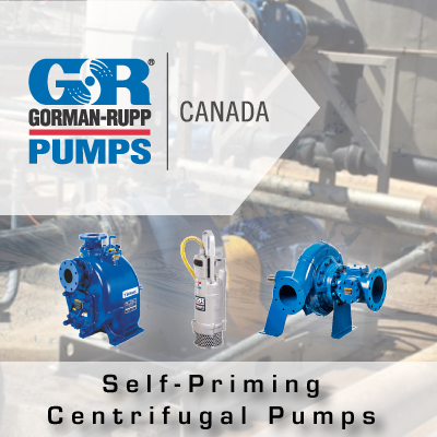 Gorman-Rupp Self Priming Pumps from John Brooks Company Limited