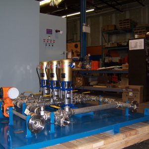 pressure booster systems municipal-water-supply