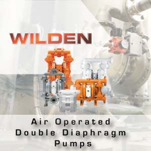 Wilden Air Operated Double Diaphragm Pumps from John Brooks Company Limited