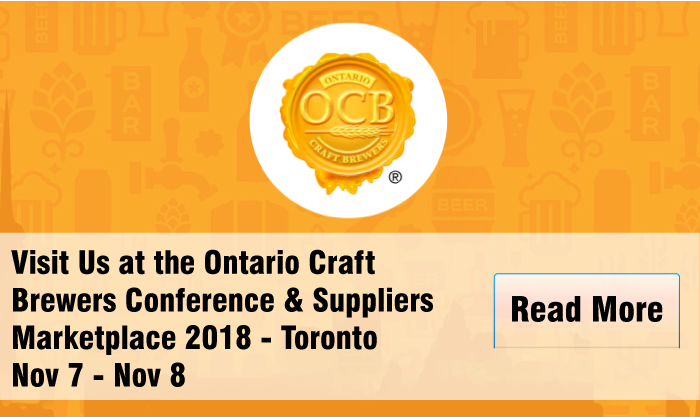 Visit Us at the Ontario Craft Brewers Conference & Suppliers Marketplace