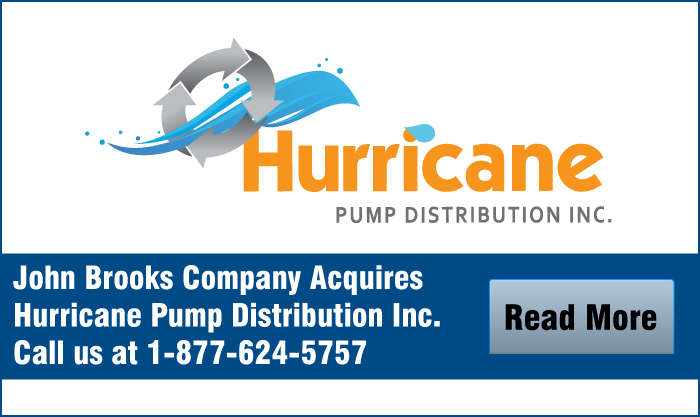 John Brooks Company Acquires Hurricane Pump Distribution Inc.