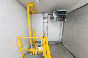 Complete-Packaged-Chemical-Additive-Facility - Upper Unit - Ladder