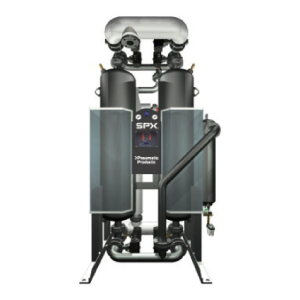 Pneumatic Products NRG-LES Series-Heat of Compression Desiccant Air Dryers