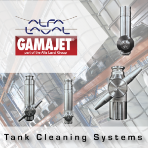 Alfa Laval Gamajet Tank Cleaning Systems from John Brooks Company