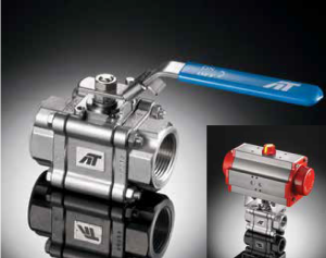 A-T Controls Triac F83 Series Fire-Safe Ball Valves