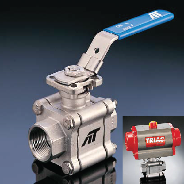 A-T Controls Triac F88 Series Ball Valves