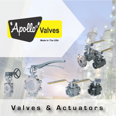 Apollo Valves and Actuators from John Brooks Company