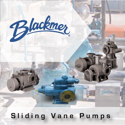 Blackmer Sliding Vane Pumps from John Brooks Company
