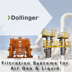 Dollinger Filtration Systems for Air Gas & Liquid from John Brooks Company