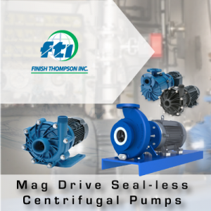 Finish Thompson Inc Mag Drive Sealless Centrifugal Pumps from John Brooks Company