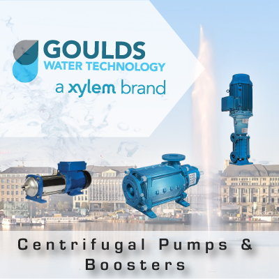 Goulds Xylem Centrifugal Pumps and Boosters from John Brooks Company
