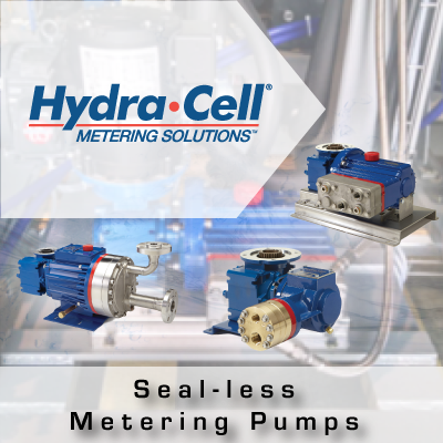 Hydra-Cell Sealless Metering Pumps from John Brooks Company