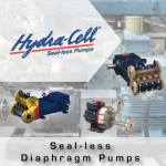 Hydra-Cell Sealless Pumps from John Brooks Company