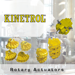 Kinetrol Rotary Actuators from John Brooks Company