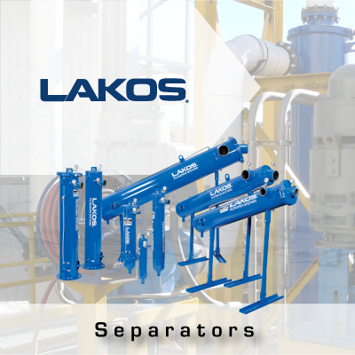 LAKOS Separators from John Brooks Company