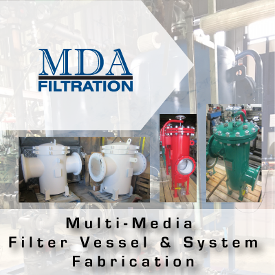 MDA Multi-Media Filter Vessel & System Fabrication from John Brooks Company