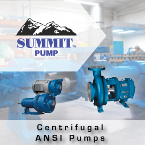 Summit Centrifugal ANSI Pumps from John Brooks Company