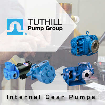 Tuthill Internal Gear Pumps from John Brooks Company