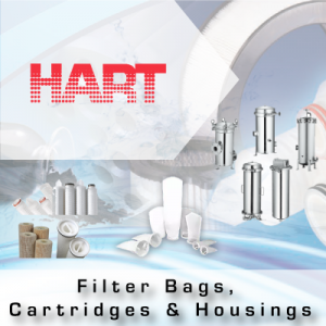 HART Filter Bags, Cartridges & Housings