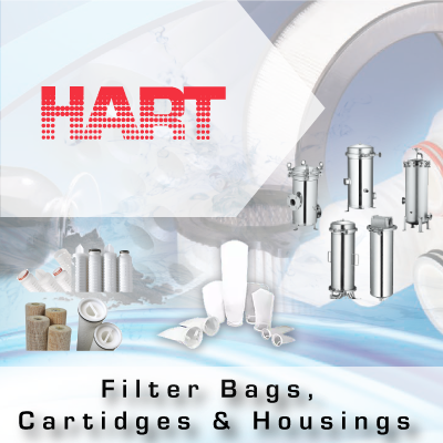 HART Filter Bags Cartridges and Housings from John Brooks Company