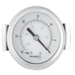 All Purpose Panel Mount Pressure Gauge