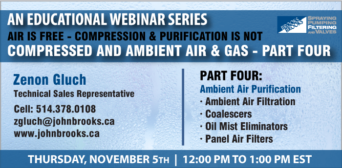Webinar - Part 4 - Compressed and Ambient Air & Gas