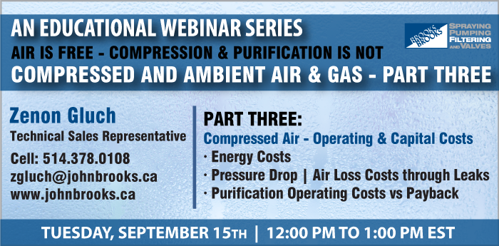 Webinar Part 3 Compressed and Ambient Air & Gas