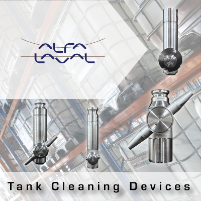 Alfa Laval Tank Cleaning Devices