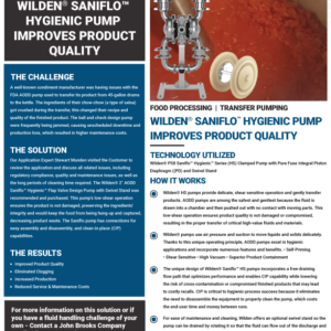 Wilden-Hygienic-Pump-Improves-Product-Quality