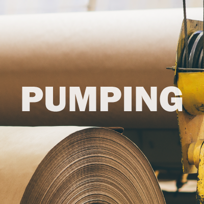 Pulp and paper pump solutions