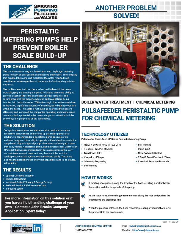 Prevent Scale Build-Up