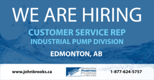 Customer Service Rep Pump Products